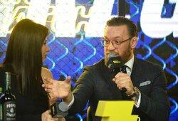 MMA agentas ir žurnalistas atskleidė, kokios temos buvo draudžiamos C.McGregoro spaudos konferencijoje Maskvoje