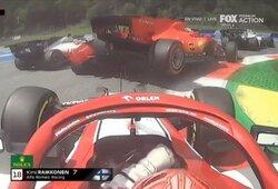 """Ch.Leclercas Austrijoje jau pirmajame rate """"išmušė"""" S.Vettelį, """"Mercedes"""" džiaugėsi dubliu"""