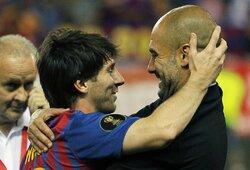 """Atskleistos L.Messi ir P.Guardiolos pokalbio detalės, """"Real"""" žaidėjai netiki tuo, ką girdi"""