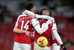 """""""Arsenal"""" vietiniame čempionate iškovojo triuškinamą pergalę"""