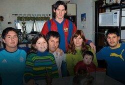 Kuo užsiima L.Messi šeimynėlė: tėvas moka plauti pinigus, brolis – banditų sindikato narys, sesuo – socialinių tinklų žvaigždė