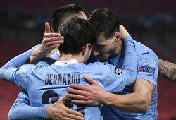 """""""Man City"""" žengė tvirtą žingsnį link Čempionų lygos ketvirtfinalio"""