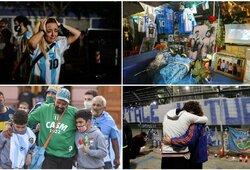 Po D.Maradonos mirties – jautrios L.Messi, C.Ronaldo, M.Tysono ir Ch.Nurmagomedovo žinutės