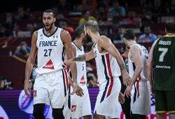 Prancūzija iškovojo bronzos medalius