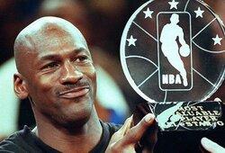 Pasitikrink savo žinias: ar žinai šiuos įdomius faktus apie M.Jordaną?
