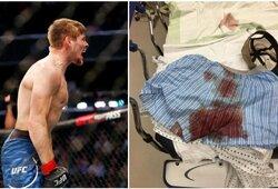 """B.Mitchellas prieš """"UFC 249"""" turnyrą nieko nebebijo: """"Susiplėšiau sėklides per pusę ir vos nepraradau savo """"daikčiuko"""""""