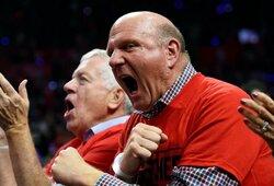 """""""Clippers"""" savininkas kovai prieš COVID-19 skyrė 25 mln. JAV dolerių"""