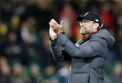 """J.Kloppą šokiravo žinia apie """"Man City"""" pašalinimą iš Čempionų lygos"""