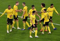 """""""Borussia"""" apskundė """"Zenit"""" klubą: atvežė sirgalius vietoj žurnalistų?"""
