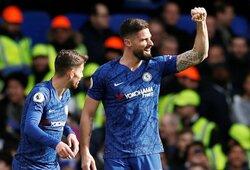 """Vėlyvą įvartį praleidęs """"Chelsea"""" Londono derbyje nugalėjo """"Tottenham"""""""
