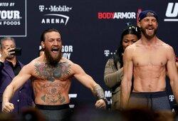 """Pamatykite: paskutinioji C.McGregoro ir D.Cerrone'o akistata prieš """"UFC 246"""" turnyrą"""