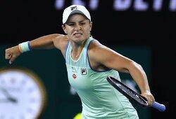 """Pirmoji pasaulio raketė """"Australian Open"""" turnyre pakartojo geriausią karjeros rezultatą"""