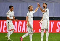 """Pergalę iškovojęs """"Real"""" vėl atsiplėšė nuo """"Barcelonos"""""""
