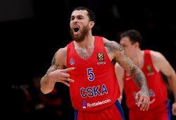 Siautėjęs M.Jamesas atvedė CSKA į pergalę