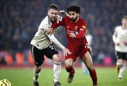 """Čempioniškas žaidimas: neklumpantys """"Liverpool"""" nugalėjo ir """"Manchester United"""""""