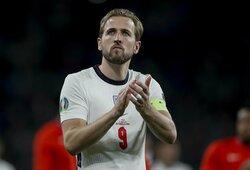 """""""Tottenham"""" komanda uždegė žalią šviesą: leidžia H.Kane'ui prisijungti prie """"Man City"""""""