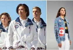 """Kanadiečių olimpinė apranga prajuokino internautus: """"Atšaukite olimpiadą"""""""