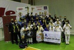 Lietuvos graplingo čempionate – favoritų pergalės