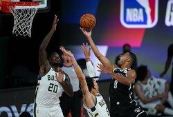 """""""Nets"""" įveikė NBA lyderius"""