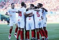 """Dešimtyje rungtyniauti likusi """"Sevilla"""" 90-ąją minutę išplėšė pergalę prieš """"Liverpool"""""""