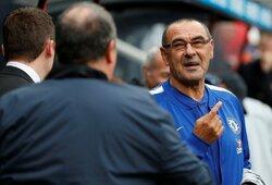 """Oficialu: M.Sarri palieka """"Chelsea"""" ir tapo """"Juventus"""" treneriu"""