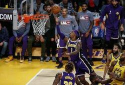 """Shaqtin' A Fool"" penketuke – ""Lakers"" žvaigždes prajuokinusio bendraklubio atakos"
