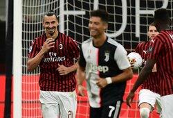 C.Ronaldo psichologiniai žaidimai nepadėjo: Z.Ibrahimovičius tik pasijuokė iš portugalo