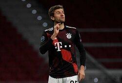 """Čempionų lyga: """"Bayern"""" 86-ąją minutę išplėšė lygiąsias su """"Atletico"""""""