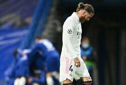 """Prisižaidė: ilgai delsęs pratęsti sutartį S.Ramosas – nereikalingas """"Real"""""""