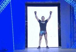 """Dominavęs """"Kapitonas Lietuva"""" nepaliko vilčių UFC veteranui ir pergalingai debiutavo """"ARES"""" organizacijoje"""