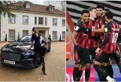 """Kilo pasipiktinimas: sunkmetį išgyvenančio """"Bournemouth"""" vadovas žmonai nupirko prabangų automobilį"""