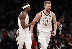 """Buvęs NBA žaidėjas: """"Sabonis yra viena priežasčių, kodėl nereikėtų nuvertinti """"Pacers"""""""