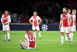 """Praėjusio sezono stebuklas """"Ajax"""" nepateko į kitą Čempionų lygos etapą"""