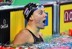 Drama Europos plaukimo čempionate: auksą pasidalino dvi rinktinės