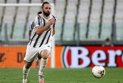 """Oficialu: G.Higuainas palieka """"Juventus"""""""