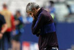 "ESPN: ""Barcelona"" artimiausiomis dienomis atleis Q.Setieną"