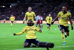 """3 įvarčius per 9 minutes pelnę """"Arsenal"""" pagaliau iškovojo pergalę"""