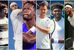 R.Berankis ir kitos pirmosios pasaulio jaunių raketės: kam geriausiai sekėsi vyrų tenise?