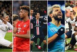 """Finansiškai stipriausi pasaulio futbolo klubai: naujas lyderis ir """"Man United"""" aplenkę kinai"""