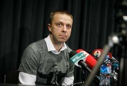 """P.Motiejūnas žvalgysis lietuvio trenerio: """"Judame į priekį stengdamiesi nenuleisti kartelės"""""""
