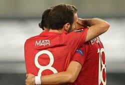 """Pranašumą per pratęsimą įrodęs """"Man Utd"""" iškovojo kelialapį į Europos lygos pusfinalį"""