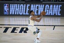 G.Antetokounmpo tapo NBA sezono MVP