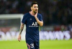 M.Pochettino apgynė savo sprendimą rungtynėse pakeisti L.Messi