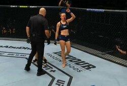"""""""UFC 251"""": R.Namajunas – J.Andrade (3 raundas, GYVAI)"""