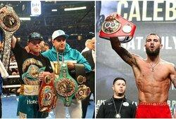 Oficialu: S.Alvarezas ir C.Plantas kovos dėl visų pagrindinių pasaulio čempiono diržų