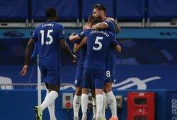 """O.Giroud pelnytas įvartis padovanojo """"Chelsea"""" pergalę prieš """"Premier"""" lygos autsaiderius"""