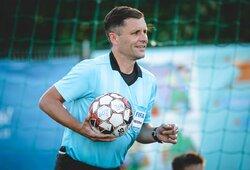 Geriausias Lietuvos futbolo teisėjas baigia karjerą