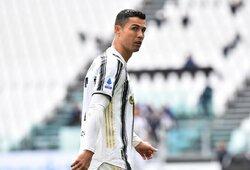 """Įvardijo didžiausią """"Juventus"""" problemą: atsikratyti C.Ronaldo reikėjo anksčiau?"""