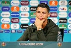 """C.Ronaldo apie savo ateitį: """"Kad ir kas bus, tai bus geriausia"""""""