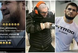 """Ch.Čimajevas pareiškė, kad galėtų """"suplėšyti"""" Ch.Nurmagomedovą ir sulaukė jo pusbrolio perspėjimo"""